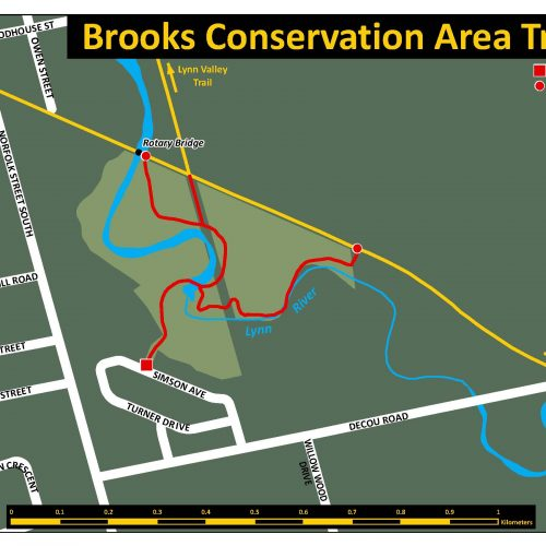 Brook Conservation Trail Map