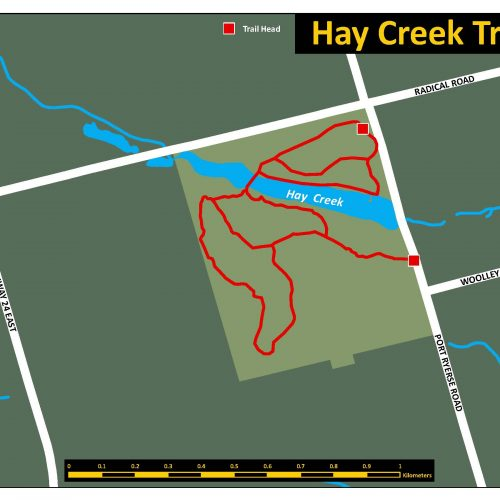Hay Creek Trail Map