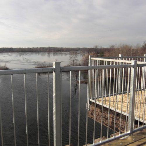 View of Waterford Ponds from viewing pod