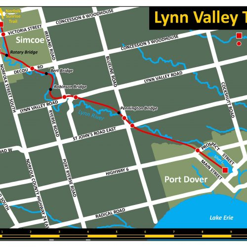 Lynn Valley Trail map